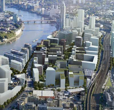 £14m sustainable drainage system planned for Nine Elms