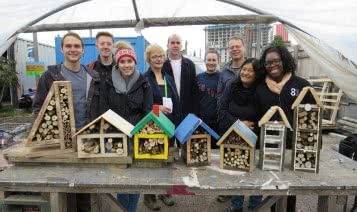 Bug hotels for mental health