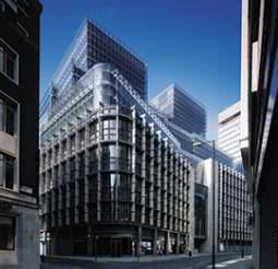 Plantation Place - Fenchurch Street provides 543,000 sqft net of office space