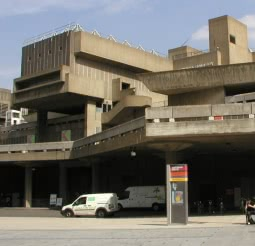 The Southbank Centre – East Wing houses the Queen Elizabeth Hall, Purcell Room and Hayward Gallery